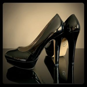 High Heels Patent Leather Size 7.5